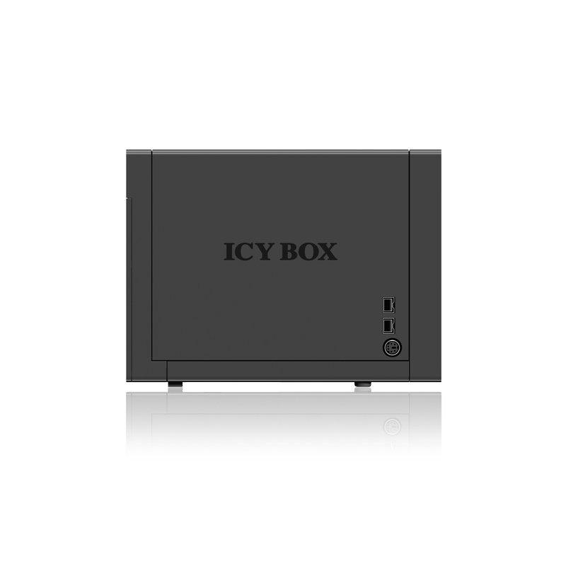 Icy Box IB-RD3640SU3E2 Externes 4-fach RAID Gehäuse für 3,5