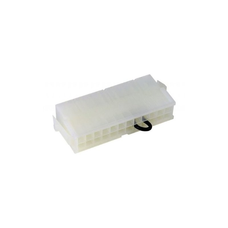 Phobya ATX-Überbrückungsstecker (24 Pin) - Weiß, 2,13