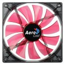 Aerocool Lightning LED Lüfter, rot - 140mm,  1.200 rpm