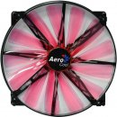 Aerocool Lightning LED Lüfter, rot - 200mm 700 rpm