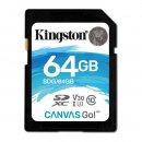 Kingston Canvas Go! SDXC 64GB, UHS-I U3, Class 10
