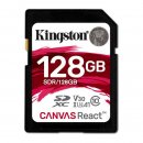 Kingston Canvas React SDXC 128GB, UHS-I A1/Class 10
