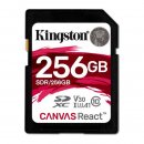 Kingston Canvas React SDXC 256GB, UHS-I A1/Class 10