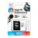 Silicon Power microSDHC High Endurance 32 GB Kit, UHS-I...