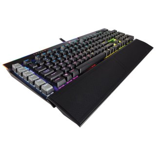 Corsair K95 RGB Platinum schwarz, Gaming Tastatur, MX-Speed-RGB-Silver, DE Layout