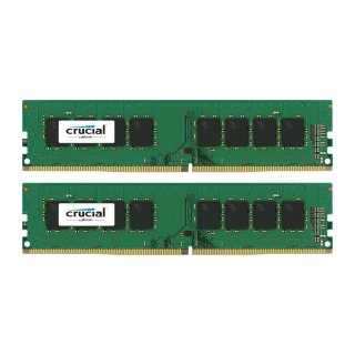 Crucial DDR4 16GB, DDR4-2133, KIT 2 x 8 GB