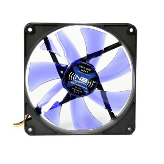 Noiseblocker XK-1 BlackSilentFan Lüfter, 140 mm