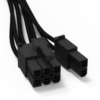 be quiet! Sleeved Power Cable CP-6610, 1x 6/?8-Pin PCIe (60cm)
