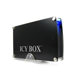 Icy Box IB-351StU3-B HDD Gehäuse USB 3.0 Schwarz