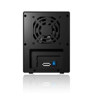 """Icy Box IB-RD3640SU3 Externes RAID Gehäuse für 4 x 3,5"""" (8,9 cm) SATA Laufwerke mit USB 3.0 und eSATA Anschluss"""