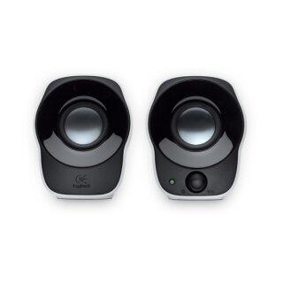 Logitech Z-120 2.0 Soundsystem - schwarz, PC Boxen, Lautsprecher