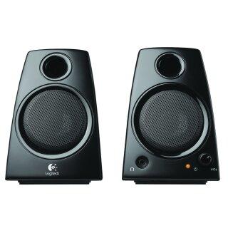 Logitech Z-130 2.0 Soundsystem - schwarz Lautsprecher PC Boxen, Schwarz