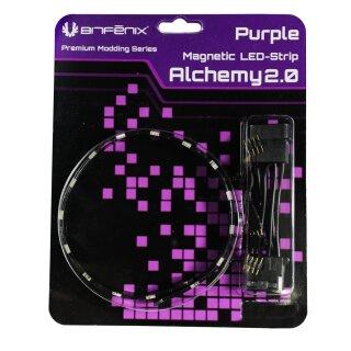 EOL - BitFenix Alchemy 2.0 Magnetic LED-Strip - 60cm, 30 LEDs, violett