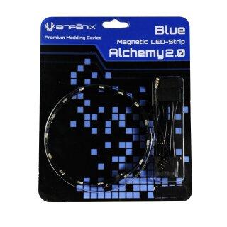 BitFenix Alchemy 2.0 Magnetic LED-Strip - 60cm, 30 LEDs, blau, LED Leiste