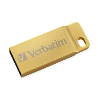 Verbatim Metal Executive gold 16 GB, USB 3.0 USB Stick