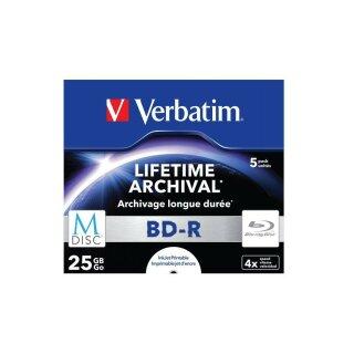 Verbatim BD-R 25 GB 4x, 5er Jewelcase