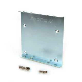 Kingston SNA-BR2/35 Mount Kit für SSD 6,4 cm (2,5 Zoll) auf 8,9cm (3,5 Zoll) inkl. Brackets und Schrauben