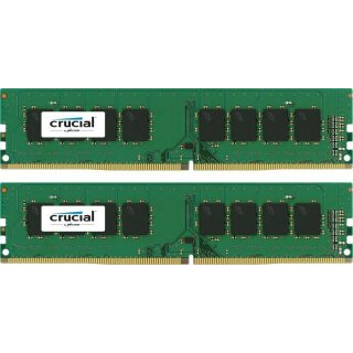 Crucial DIMM Kit 16 GB, DDR4-2400, CL17