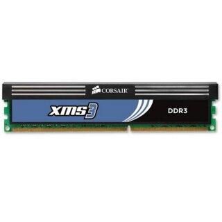 Corsair XMS3 DIMM 4GB, DDR3-1333, CL9-9-9-24