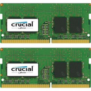 Crucial SO-DIMM Kit 16GB, DDR4-2400, CL17
