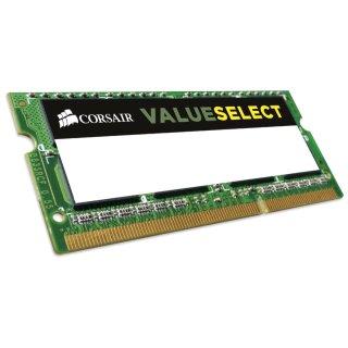 Corsair ValueSelect SO-DIMM 4GB, DDR3L-1333, CL9