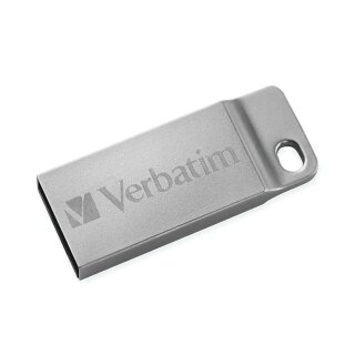 Verbatim Metal Executive silber 64 GB, USB 2.0