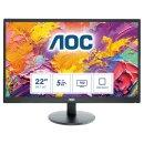 """AOC E2270SWDN TN 54.6cm (21.5"""") Schwarz Full HD LED..."""