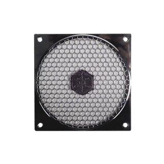SilverStone SST-FF121B Lüftergitter Schutzgitter für Lüfter 120 x120 mm Fan