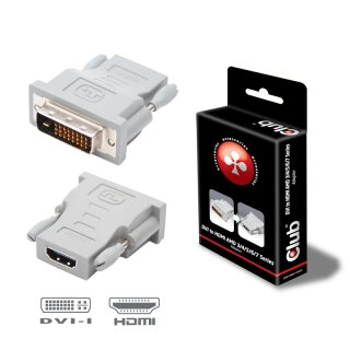 Club 3D DVI-D auf HDMI Adapter