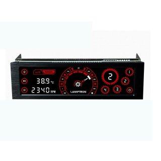 Lamptron CM430 PWM Lüftersteuerung - schwarz/rot