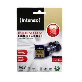 Intenso SDHC 16 GB, UHS-I/Class 10