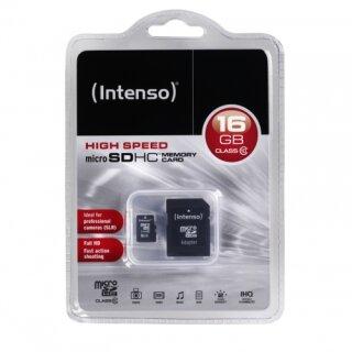 Intenso microSDHC 16 GB Class 10