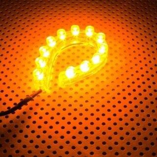 Lamptron FlexLight Standard - 12 LEDs - orange