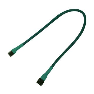 Nanoxia 3-Pin Lüfter-Verlängerungskabel, 30 cm, grün