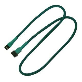 Nanoxia 3-Pin Lüfter-Verlängerungskabel, 60 cm, grün