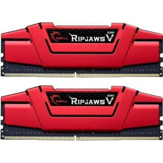 G.Skill RipJaws V rot 32 GB Kit, DDR4-3200, CL14