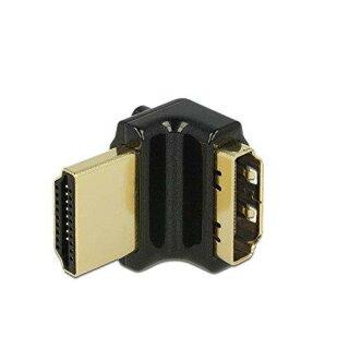 DeLock 4K HDMI-A Buchse > HDMI-A Stecker 90 Grad gewinkelt