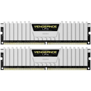 Corsair Vengeance LPX weiß DIMM Kit 16GB, DDR4-2666, CL16 DDR4 RAM Speicher