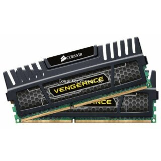 Corsair Vengeance schwarz DIMM Kit 16GB, DDR3-1600, CL9