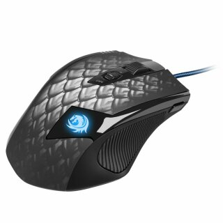 Sharkoon Drakonia Black Gaming Laser Maus