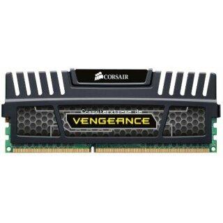 Corsair Vengeance schwarz DIMM 8GB, DDR3-1600, CL9
