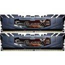 G.Skill Flare X schwarz DIMM Kit 16GB, DDR4-2400, CL15,...