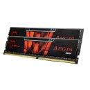 G.Skill Aegis DIMM Kit 16GB, DDR4-2400, CL15