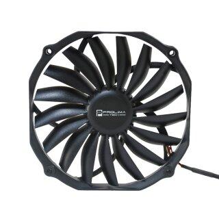 Prolimatech Ultra Sleek Vortex - 140 mm Lüfter nur 15 mm dick, Fan, Kühler