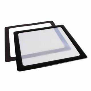 DEMCiflex 140 mm Lüfter schwarz, Filter, Staubfilter, Gehäuse