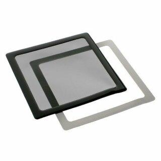 DEMCiflex Staubfilter 200mm, quadratisch - schwarz/schwarz