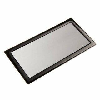 DEMCiflex 240mm schwarz Staubfilter für Radiator (2x120mm Square black