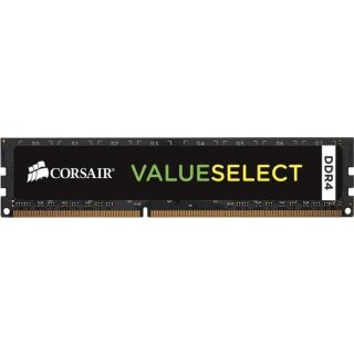 Corsair Value Select DIMM 4 GB, DDR4-2400, CL16