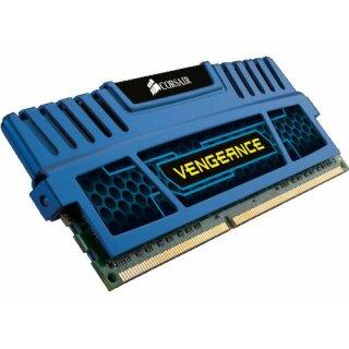 Corsair Vengeance blau DIMM Kit 16 GB, DDR3-1600, CL10