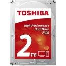 Toshiba P300 High-Performance 2 TB, SATA Festplatte, HDD...